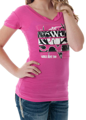 GH2 Buck T-Shirt Pink - Girls With Guns - 2