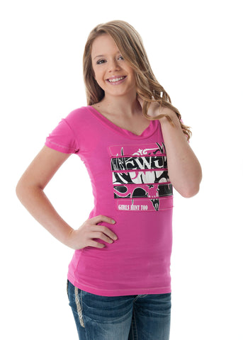 GH2 Buck T-Shirt Pink - Girls With Guns - 1