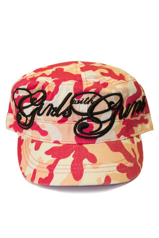 GWG Pink Camo Bucket - Girls With Guns
