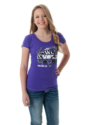 GH2 Buck T-Shirt Purple - Girls With Guns - 1