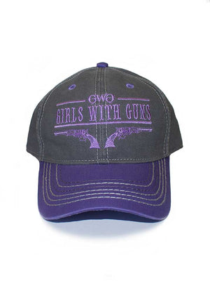 Womens 6 Shooter Hat in Purple by Girls with Guns