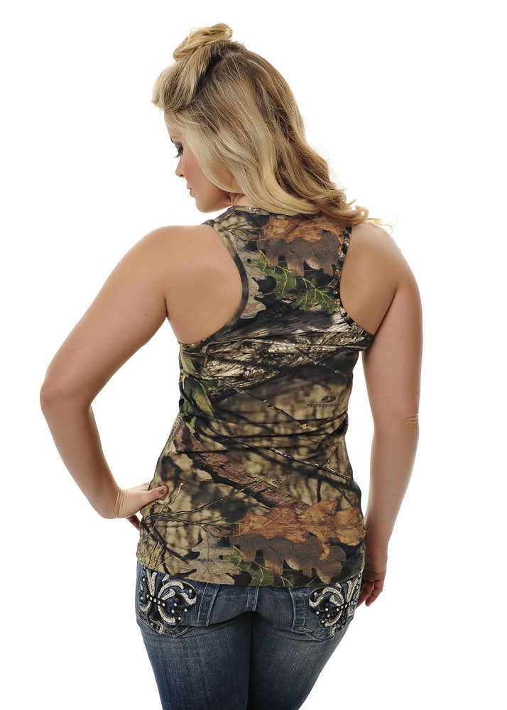 Womens Classic Tank in Mossy Oak Break Up Country Camo by Girls With Guns