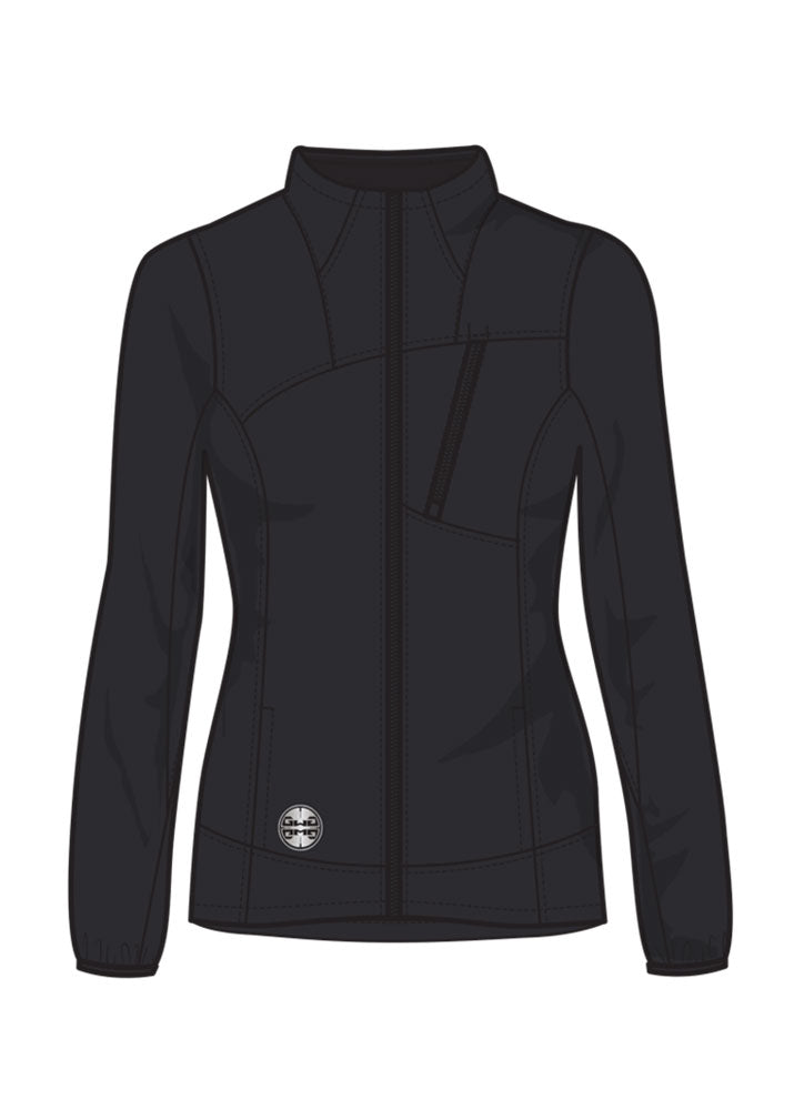 Sable Softshell Jacket CCW | Black | Plus Size