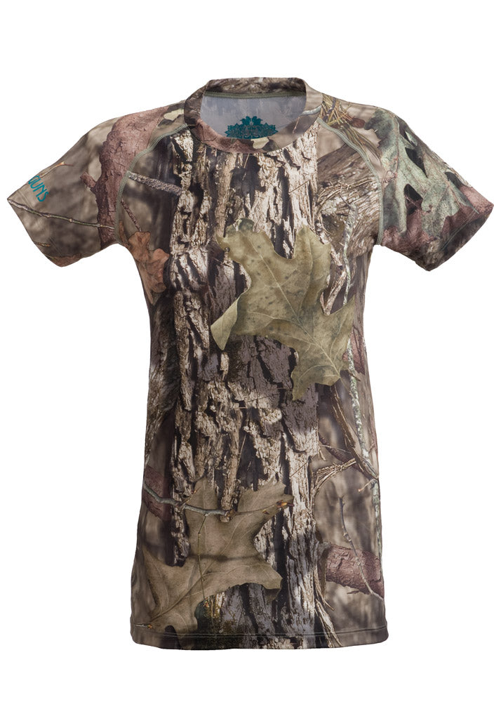 Plus Size Stalker Performance Tee - Mossy Oak Country