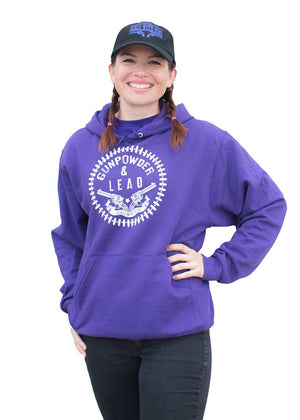 Gun Powder and Lead Hoodie - Purple