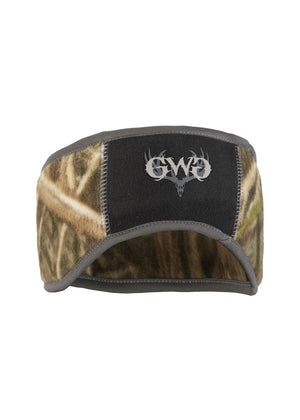 Womens Ear Band in Mossy Oak Blades Camo by Girls with Guns