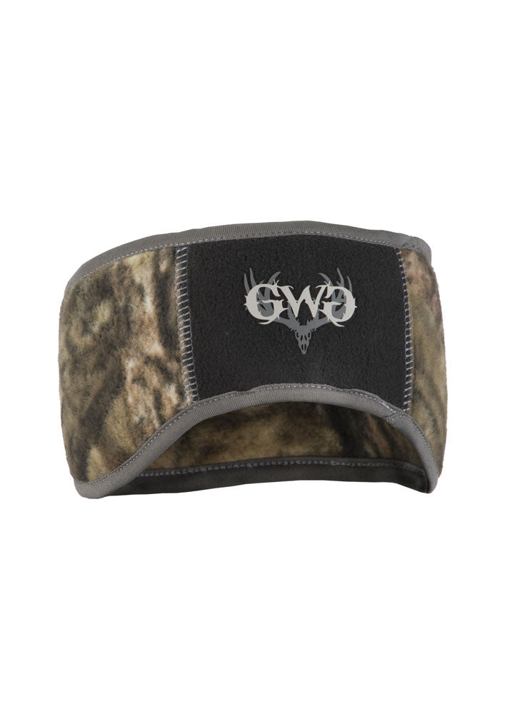 Womens Ear Band in Mossy Oak Country Camo by Girls with Guns