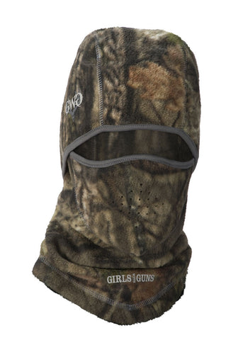 Womens Head Cover in Mossy Oak Country Camo by Girls with Guns