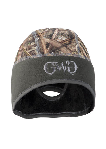 Womens Ponytail Beanie Mossy Oak Blades by Girls with Guns