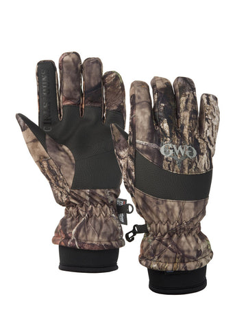 Womens Soft Shell Glove Mossy Oak Country by Girls with Guns