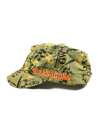 GWG Camo Collage Military Hat Olive
