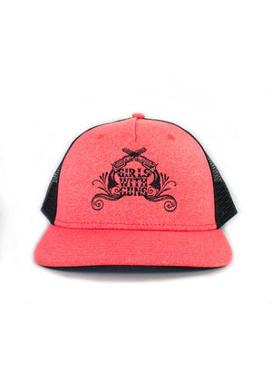 Coral Caliber Ball Cap