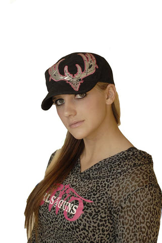 GWG Crackle Buck Military Hat - Girls With Guns - 1