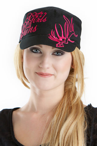 GWG Elk Military Hat - Girls With Guns - 1
