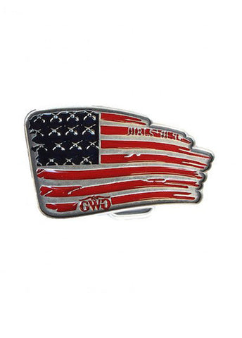 Montana Silversmiths Flag Buckle