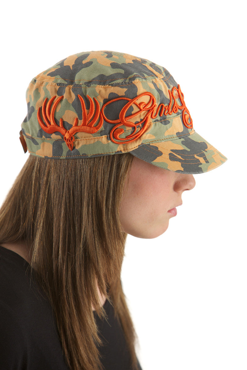 GWG Script Bucket Orange - Girls With Guns - 1
