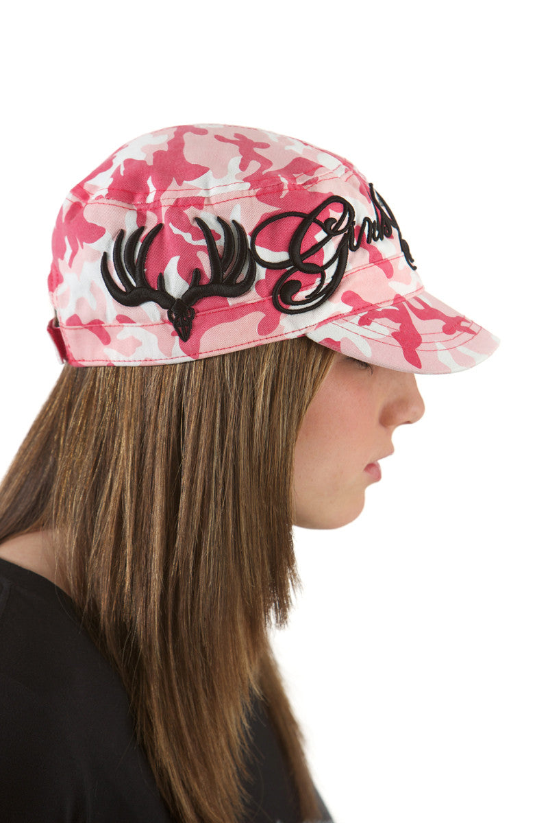 GWG Pink Camo Script Bucket - Girls With Guns - 1