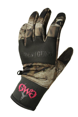 GWG Midweight Glove Mossy Oak Camo by Girls With Guns