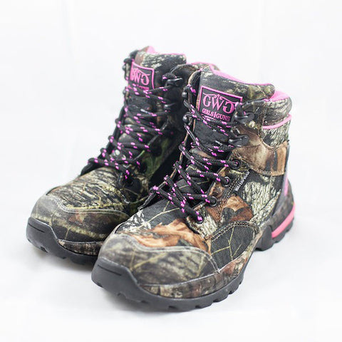 "Huntress 6"" Boot Camo - Non-Insulated - Girls With Guns"