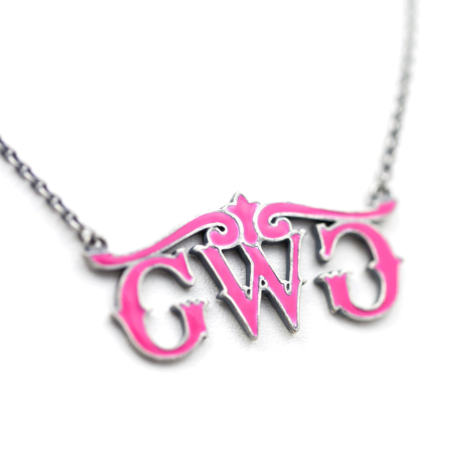 GWG Logo Necklace - Girls With Guns