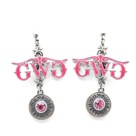 Montana Silversmiths Bullet Earrings - Girls With Guns
