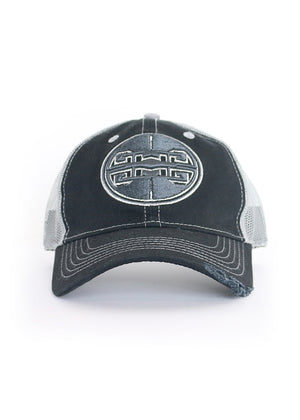 Athletic Trucker Hat | Black