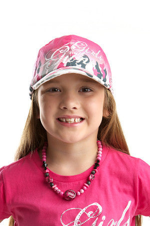 GWG Kids Camo Ball Cap - Girls With Guns