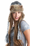 GWG Earflap Beanie Black - Girls With Guns