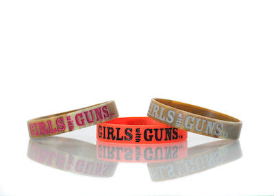 Wristband Pack - Hunting - Girls With Guns