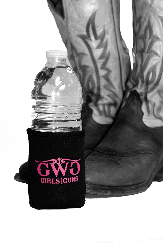 GWG Koozie Black - Girls With Guns - 1