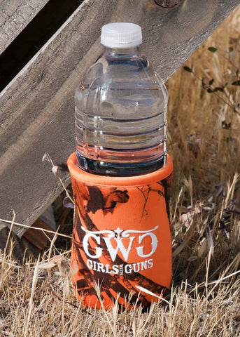 Mossy Oak Blaze® Orange Koozie