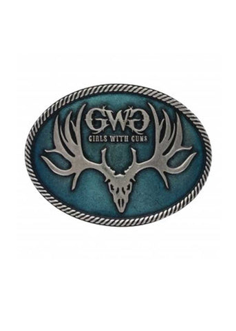 GWG Turquoise Attitude Buckle