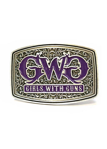 GWG Purple Attitude Buckle