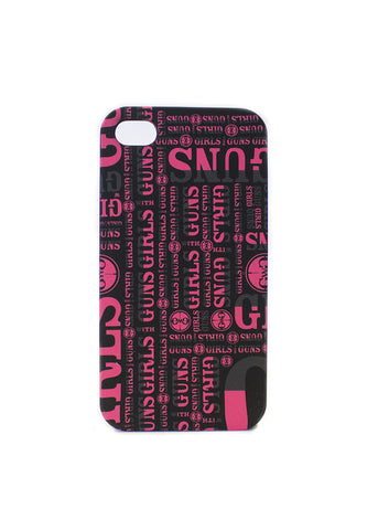 GWG iPhone 4/4s Case - Girls With Guns - 1
