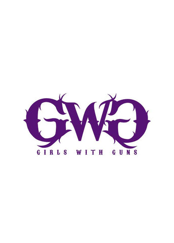 GWG Small Car Sticker Purple