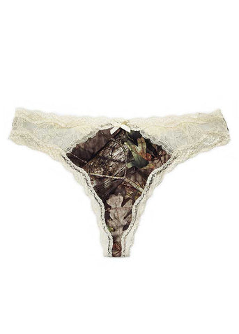Lace Thong Mossy Oak Country