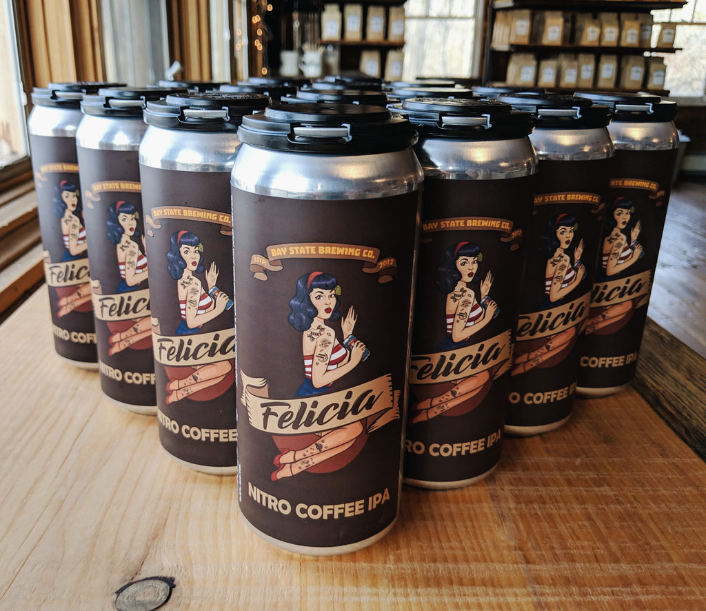 Coffee Beer Collab with Bay State Brewing! - The Weekly Grind 2019