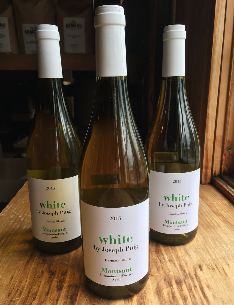 Wine Highlight: White by Joseph Puig! - The Weekly Grind 2018