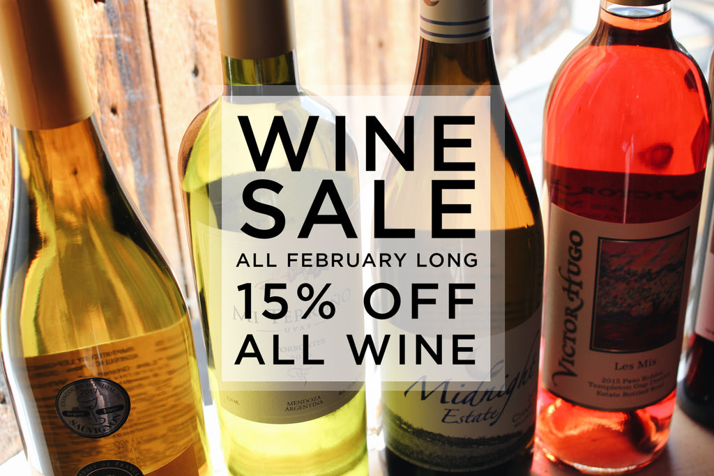 The Weekly Grind - Save On Wine All Month Long!
