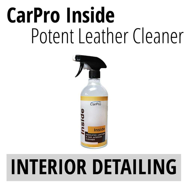 CarPro Inside Leather Cleaner
