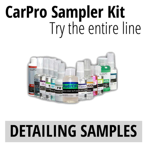 CarPro sample kit all products