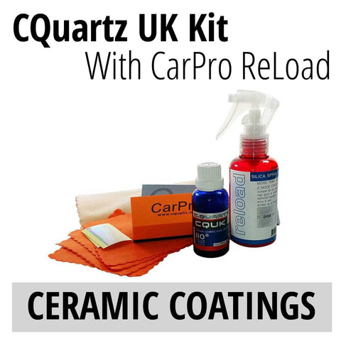 CQuartz UK installation kit and tools