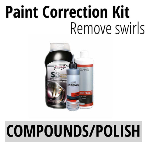 Scholls S3 CarPro Essence Reflect Paint Correction KIt