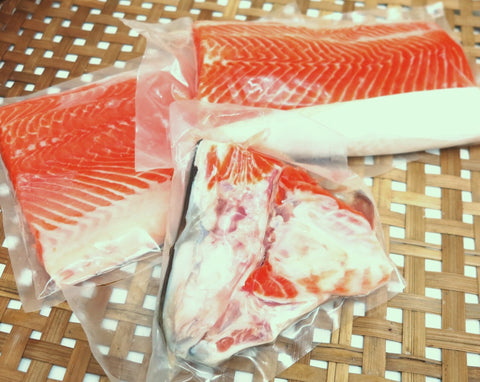 Fresh Salmon Sashimi Grade - Family Pack