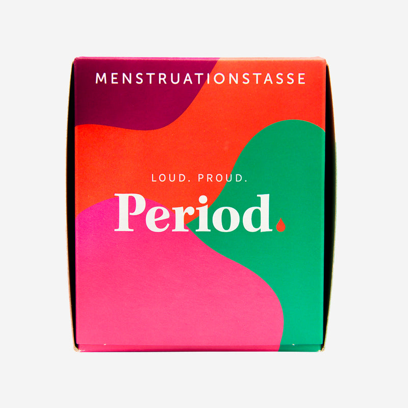 Period. Menstruationstasse