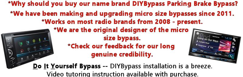 Details about DIYBypass Parking Brake Bypass Fits ALL AVH Pioneer Override  DVD Video Lockout