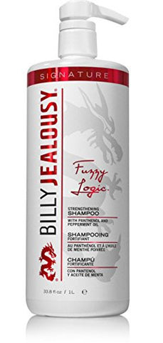Billy Jealousy Fuzzy Logic Hair Strengthening Shampoo, 33 oz
