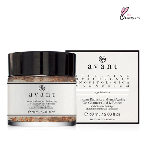 AVANT Instant Radiance and Anti-Ageing Gel Charmer Gold & Bronze
