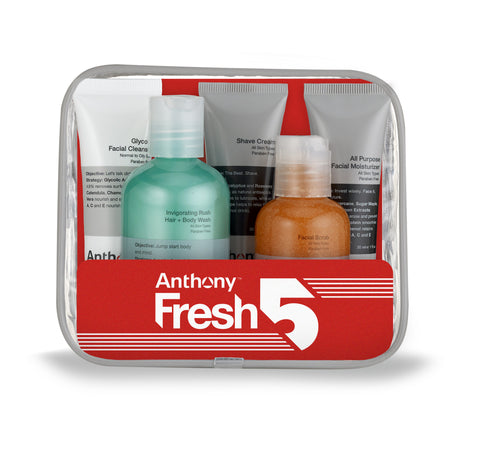 Anthony Fresh 5 Skin Care Set, 12 fl oz