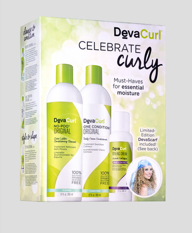 DevaCurl Curly Holiday Kit